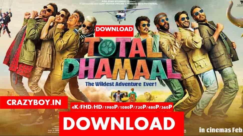 a filmywap movie 2019 Total Dhamaal HINDI FULL HD MOVIE DOWNLOAD FILMYWAP 1080P
